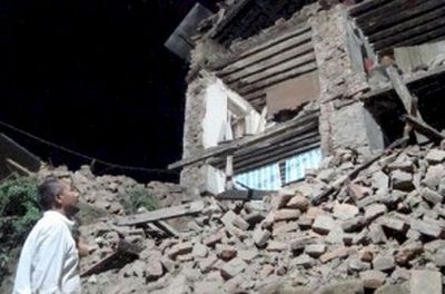 Sikkim - earthquake