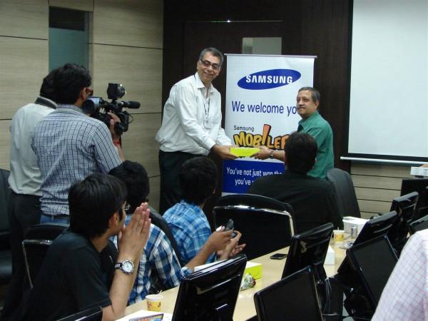 Samsung_award_Arvind Passey