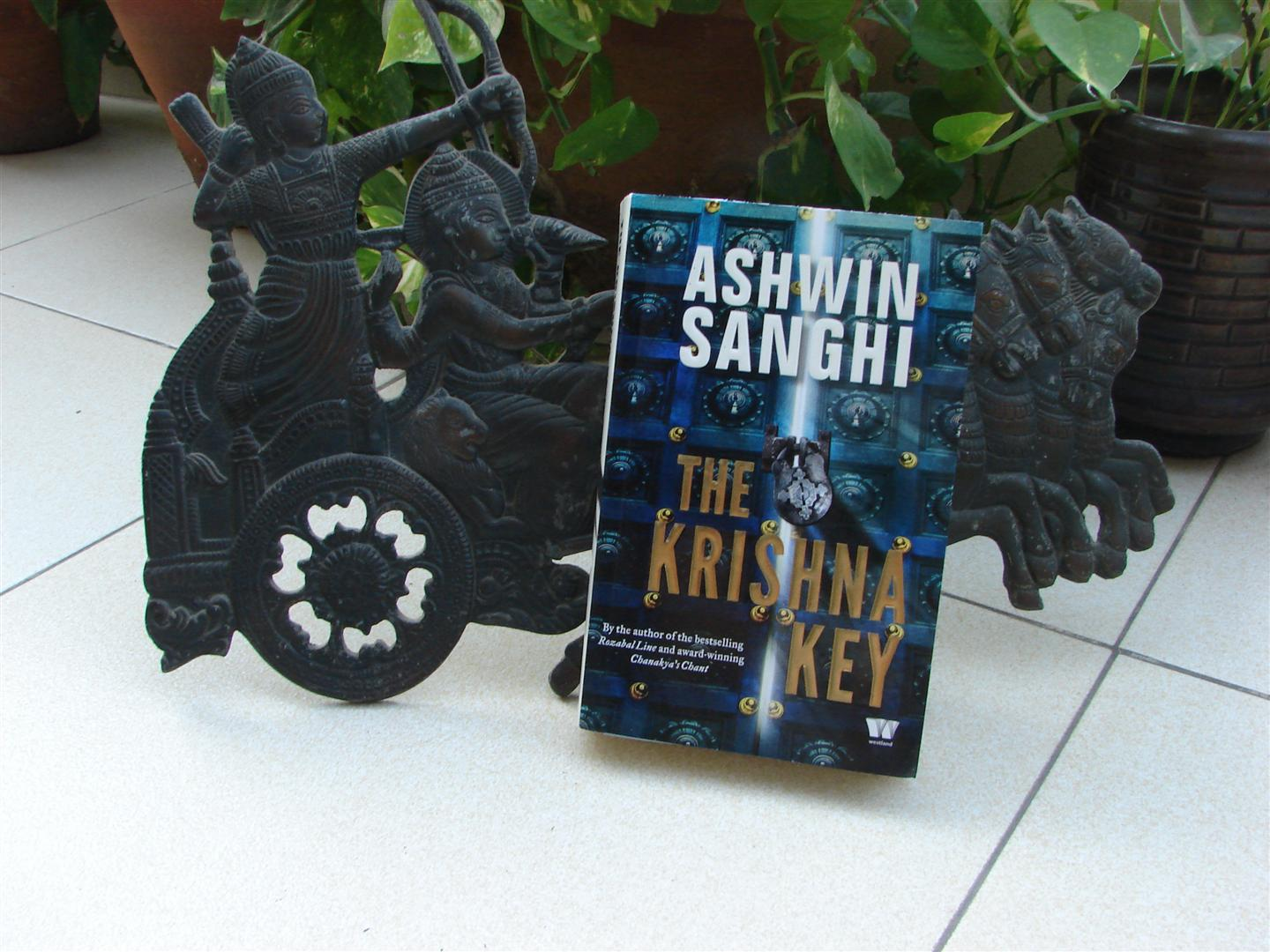 The Krishna Key- Review image