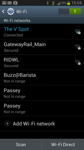 Did I tell you that the place gives you FREE wifi... ?
