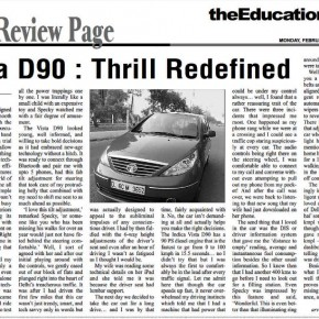 Vista D90: Thrill Redefined