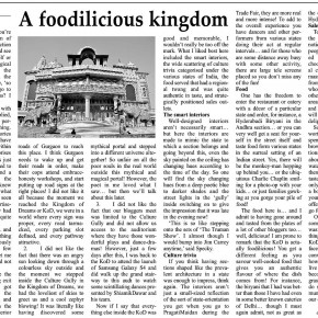 A foodilicious kingdom