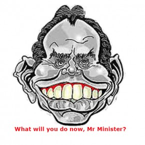 What will you do now, Mr Minister?