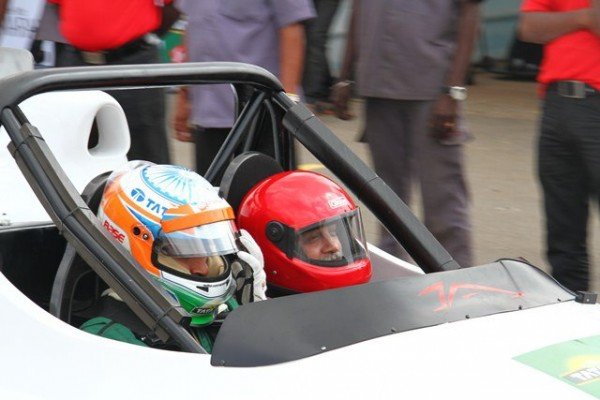 Driving with Narain Karthikeyan_The start