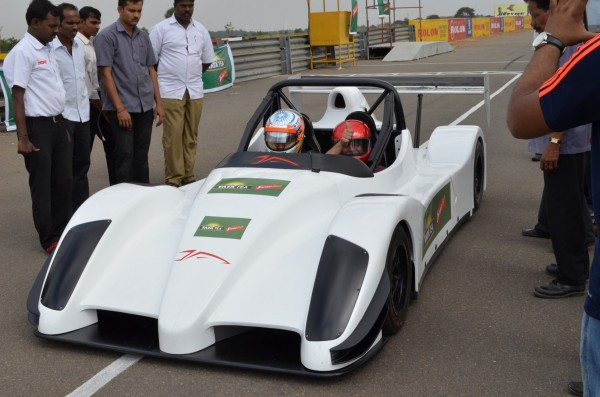 Driving with Narain Karthikeyan_ready for the drive