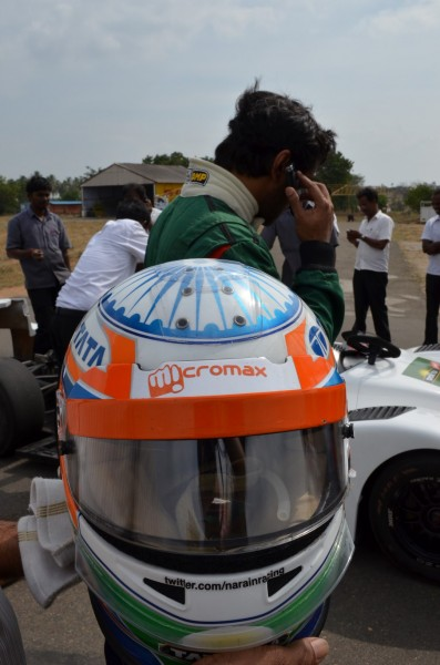 Driving with Narain Karthikeyan_India's pride!