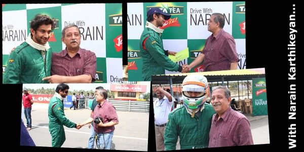 Driving with Narain Karthikeyan_An interactive time