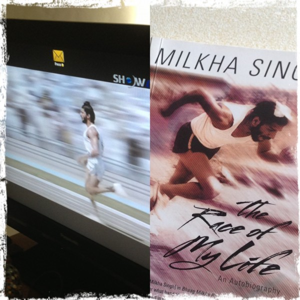 'The Race of my Life'... Milkha Singh's autobiography...