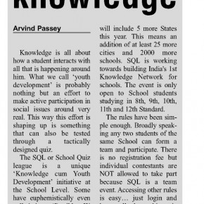 The SQL of knowledge