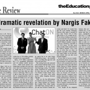 A dramatic revelation by Nargis Fakhri