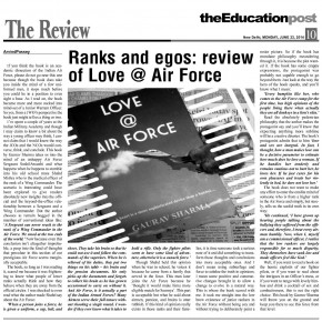 Ranks and egos: Review of 'Love @ Air Force'