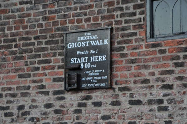 The place where the best Ghost Walk begins... right next to King's Arms