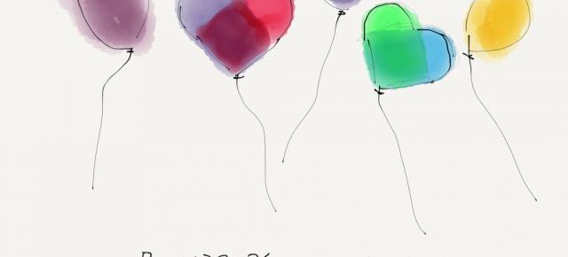 Raindrops on paper
