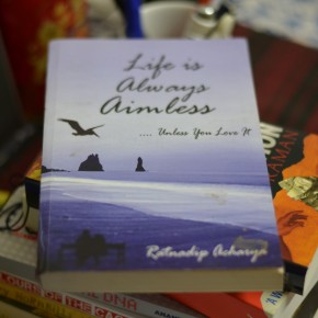 Standing on the parapet dangerously: Review of 'Life is always aimless...'