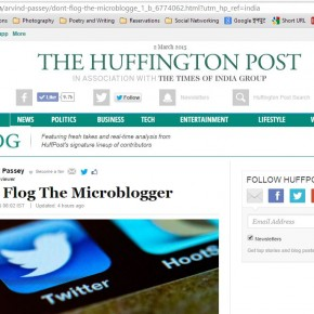 Flog the micro-blogger
