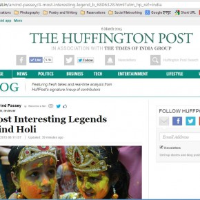 HOLI has more than one legend linked to it