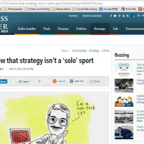 CEOs Know that Strategy isn't a Solo Sport