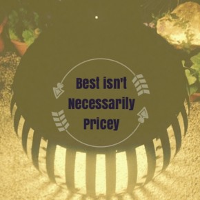 Best isn't necessarily pricey